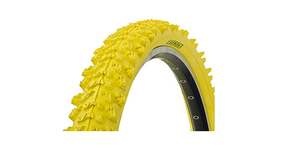 Kenda K-829 Bike Tire 26 x 1.95, wire bead yellow